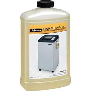 WFHGuard.com Fellowes ZM3844 Fellowes Powershred<sup>®</sup> High Security Shredder Oil <sup>®</sup> 32 Oz. Bottle